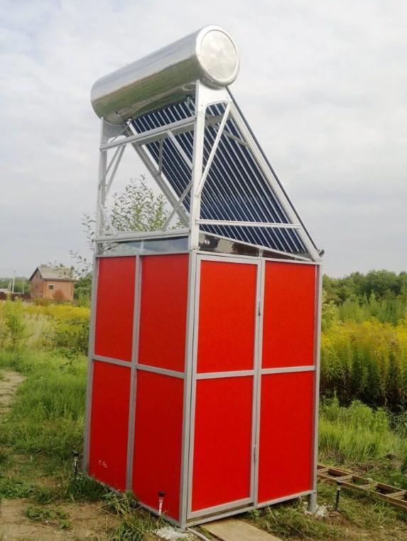 Альтернативная энергетика на строительной площадке
